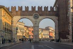 Porta Nuova in Verona Royalty Free Stock Photography