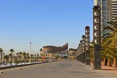 porta olimpica, Barcellona, Spagna Immagine Stock Libera da Diritti