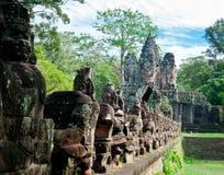 Porta oriental de Angkor Imagem de Stock