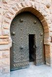 Porta oriental no Cairo velho fotografia de stock royalty free