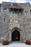 Porta orientale del castello di Eilean Donan dello Scottish Fotografia Stock Libera da Diritti