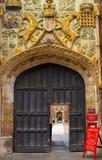 Porta original em Cambridge Fotos de Stock Royalty Free