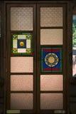 Porta ornamentado Fotos de Stock Royalty Free