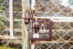 Porta oxidada Imagens de Stock