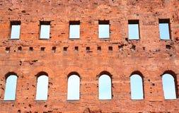 Porta Palatina, Torino, Italia Fotografia Stock