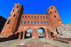 Porta Palatina - Torino Italy Royalty Free Stock Photo