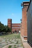 Porta Palatina, Turin, Italie Image libre de droits