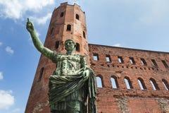 Porta Palatina, Turin, Italy Royalty Free Stock Photo