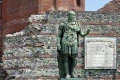 Porta Palatina, Turin, Italy Stock Photography