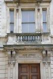 Porta para curvar a corte de magistrados Londres da rua Imagem de Stock Royalty Free
