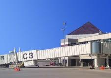 Porta para qualquer tempo do aeroporto Imagens de Stock