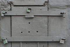 Porta pequena do metal Imagem de Stock