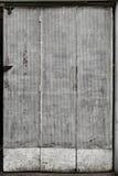 Porta perfurada do metal Fotografia de Stock