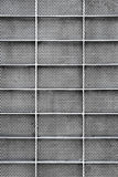 Porta perfurada do metal Fotos de Stock