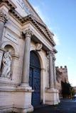 Porta Pia, antyczna brama w Rzym, Włochy obraz stock