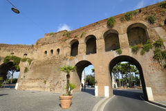 Porta Pinciana. Roma Imagem de Stock Royalty Free