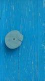 Porta Placa azul Textura Fotos de Stock