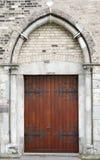 Porta/porta velhas Imagem de Stock