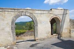 Porta Posterola. Amelia. L'Ombrie. L'Italie. Photographie stock libre de droits