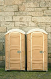 Porta-Potties Royalty Free Stock Photo