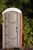 Porta Potty. Portable toilet in the park Royalty Free Stock Images