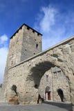 Porta Praetoria de Aosta Fotos de archivo
