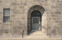 Porta principal da penitenciária Imagem de Stock Royalty Free