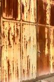 Porta principal oxidada Fotografia de Stock Royalty Free