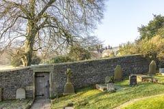 Porta privada da igreja, Downham Salão Imagens de Stock