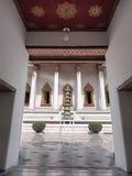 Porta quadro do templo tailandês da arte Foto de Stock