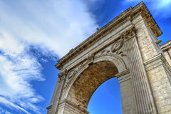 Porta Reale, Noto Royalty Free Stock Photo