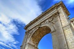 Porta Reale, Noto Photo libre de droits