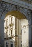 Porta Reale, Noto Royalty Free Stock Image