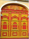 Porta renovada bonita do centro da citadela Fotos de Stock