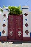 Porta Rhodos Grécia Fotografia de Stock