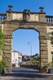 Porta Romana. Ronciglione. Lazio. Italy. Stock Photography