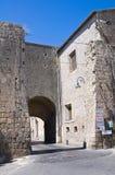 Porta Romana. Tarquinia. Il Lazio. L'Italia. Fotografia Stock
