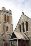 Porta sagrado da igreja do coração - de - spain trinidad Fotografia de Stock