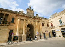 Porta San Biagio in Lecce, Apulia, Italy Royalty Free Stock Photography