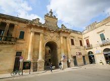 Porta San Biagio in Lecce, Apulia, Italy Royalty Free Stock Photography