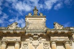 Porta San Biagio in Lecce, Italy Stock Photo