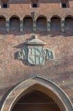 Porta SAN Felice στη Μπολόνια, Ιταλία στοκ εικόνες