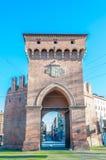 Porta San Felice a Bologna, Italia Immagini Stock Libere da Diritti