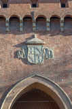 Porta San Felice a Bologna, Italia Immagini Stock