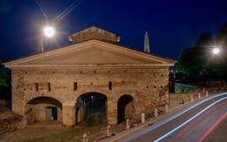 Porta San Giacomo a Bergamo Immagine Stock