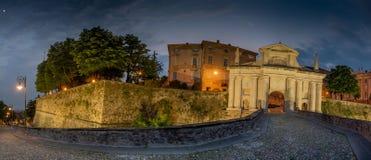 Porta San Giacomo a Bergamo Fotografia Stock Libera da Diritti