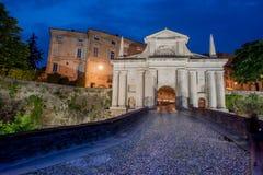 Porta San Giacomo in Bergamo Royalty Free Stock Photo