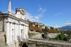 Porta San Giacomo, Citta Alta, Bergamo (Old Town) Royalty Free Stock Photography
