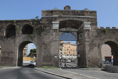 Porta San Giovanni, Rome Stock Photos