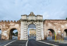 Porta San Giovanni, Rome Italy royalty free stock photos